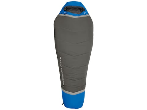 ALPS Mountaineering Aura Mummy Sleeping Bag Polyester Ultramarine/Coal