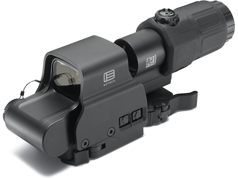 EOTech EXPS2-2 Holographic Hybrid Sight II 68 MOA Circle with (2) 1 MOA Dots Reticle wi...