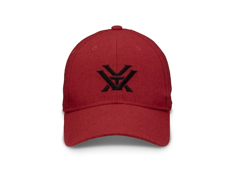 Vortex Optics Wool Logo Cap Red