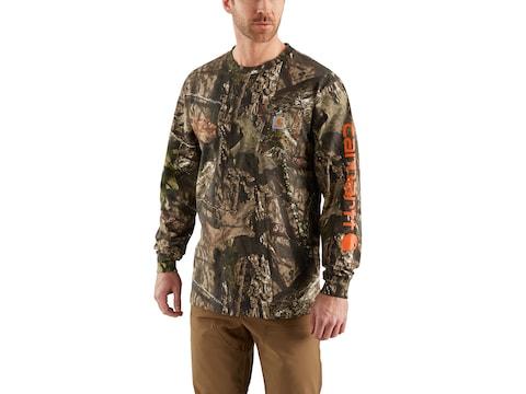 Carhartt Men's Workwear Graphic Camo Long Sleeve T-Shirt Cotton