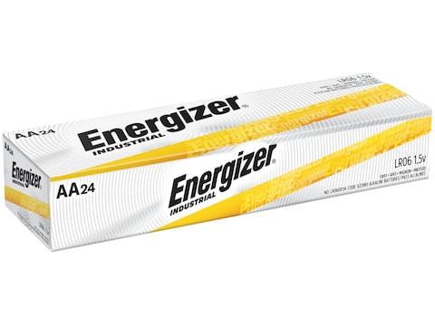 Energizer Battery AA Industrial EN91 1.5 Volt Alkaline Pack of 24