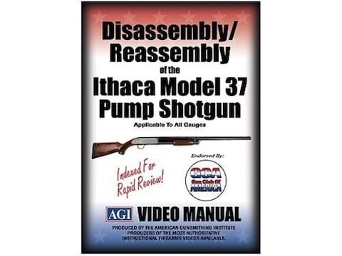 """American Gunsmithing Institute (AGI) Disassembly and Reassembly Course Video """"Ithaca Mo..."""