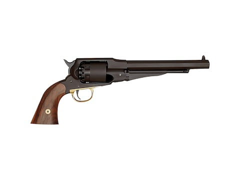 "Pedersoli Remington Pattern Target Muzzleloading Pistol 44 Caliber 7"" Blued Barrel Waln..."