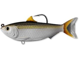 "LIVETARGET Scaled Sardine 3.5"" Swimbait Silver/Bronze"