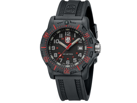 Luminox Black Ops Watch Carbon Compound/Rubber Red/Black