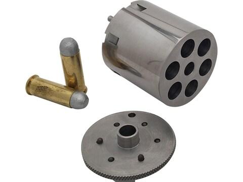 Howell Conversions Cylinder 36 Caliber Uberti 1858 Remington Navy Steel Frame Black Pow...