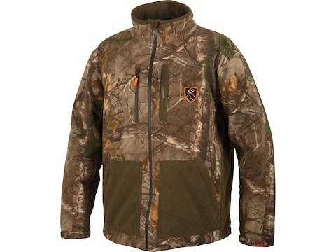 Drake Non-Typical Men's Hydro-Hush Full Zip Waterproof Insulated Scent Control Jacket P...