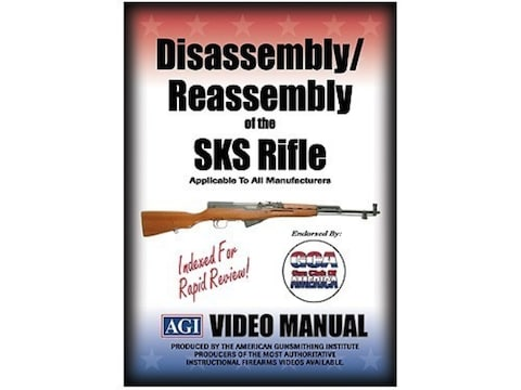 """American Gunsmithing Institute (AGI) Disassembly and Reassembly Course Video """"SKS Rifle..."""