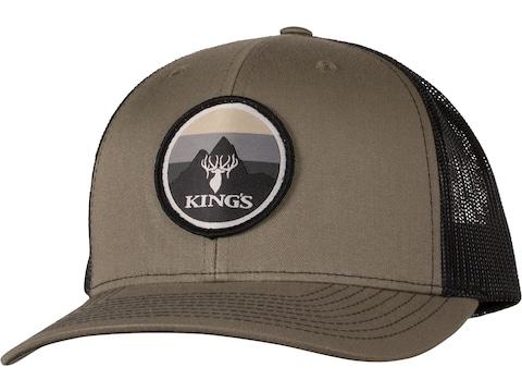 King's Camo Logo Patch Snapback Trucker Cap