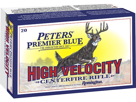 Remington Peters Premier Blue Ammunition 7mm Remington Magnum 150 Grain AccuTip Polymer...