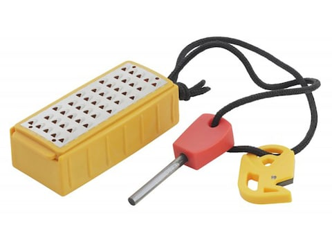 Smith's Pack Pal Tinder Maker Survival Tool with Fire Starter
