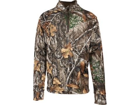 MidwayUSA Men's Elk Fork 1/4 Zip Long Sleeve Shirt
