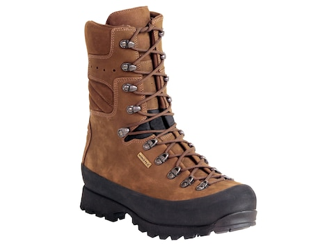 "Kenetrek Mountain Extremes 10"" Hunting Boots Leather and Nylon Men's"