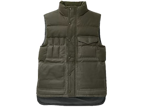 Filson Men's Down Cruiser Insulated Vest Cotton
