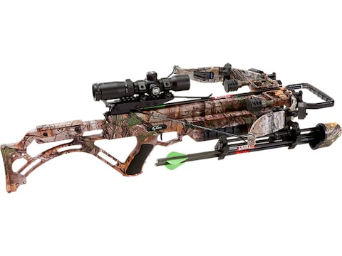 Excalibur Micro Suppressor Crossbow Package with Tact-Zone Illuminated Scope Realtree X...