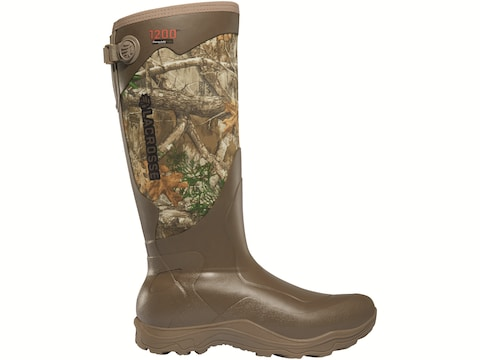 "LaCrosse Alpha Agility 17"" Waterproof 800 Gram Insulated Hunting Boots Rubber/Neoprene ..."