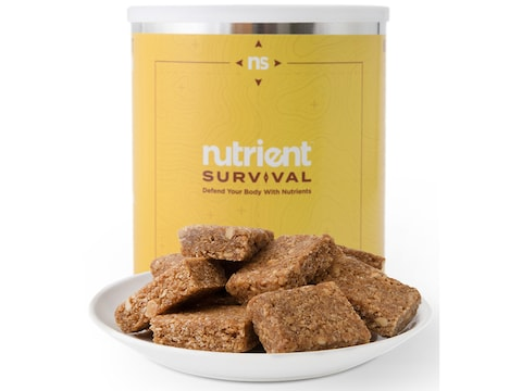 Nutrient Survival Peanut Butter Bar Meals Freeze Dried Food 10 Serving
