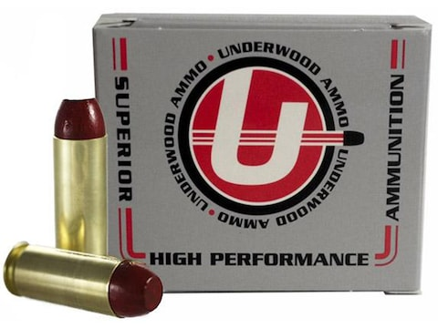 Underwood Ammunition 45 Winchester Magnum 255 Grain Hard Cast Flat Nose Box of 20