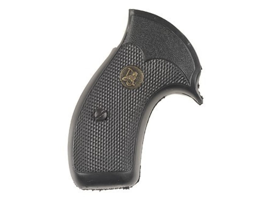 Pachmayr Compac Professional Grips S&W K L-Frame Round Butt Rubber