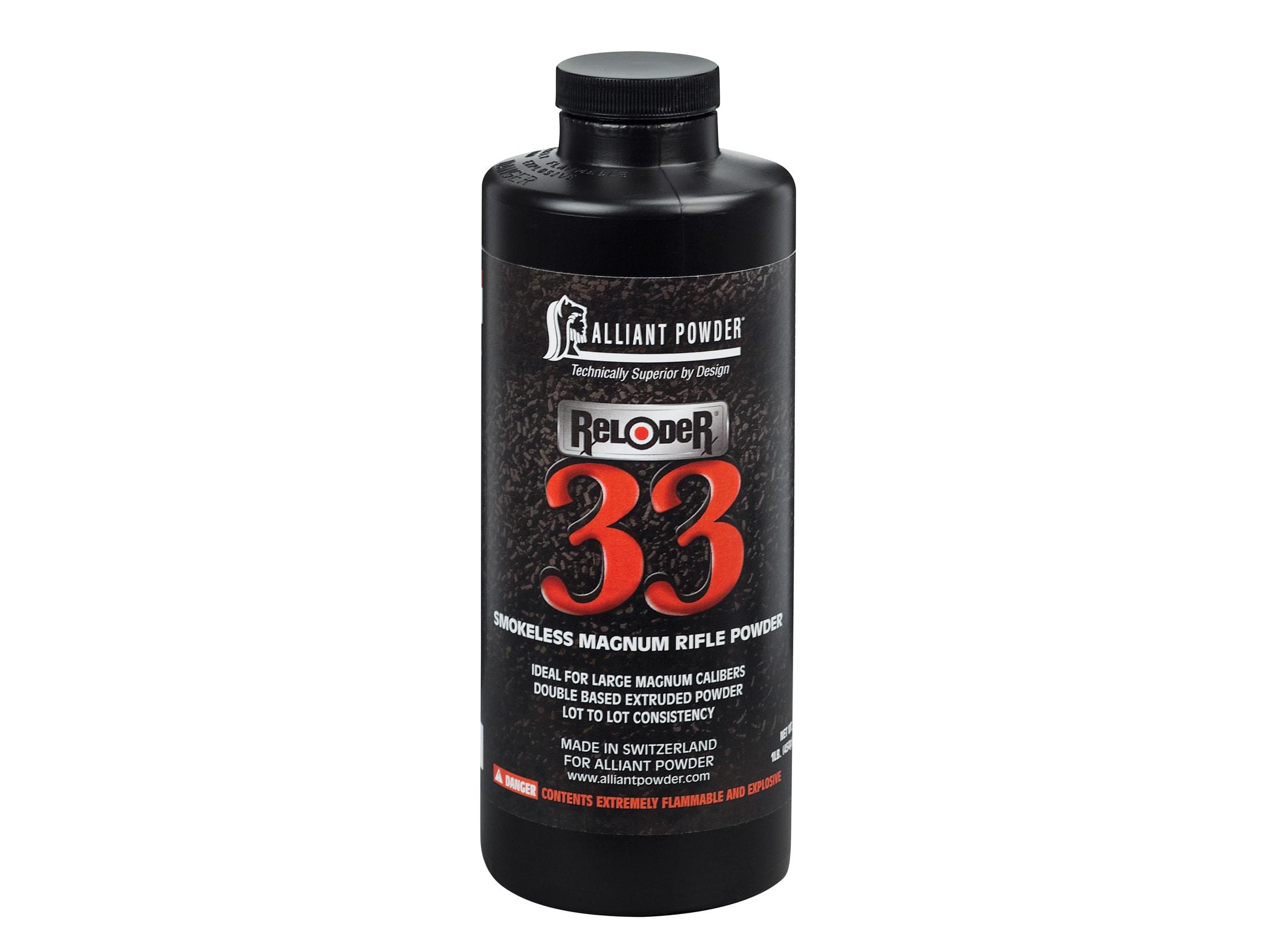 Alliant Reloder 33 Smokeless Gun Powder 8 lb