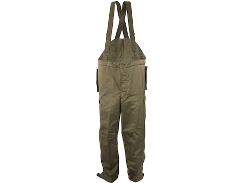 Military Surplus Austrian Pants with Suspenders Olive Drab