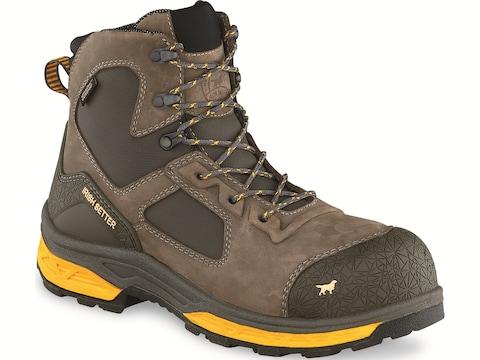"Irish Setter Kasota 6"" Non-Metallic Safety Toe Work Boots Leather/Synthetic Men's"