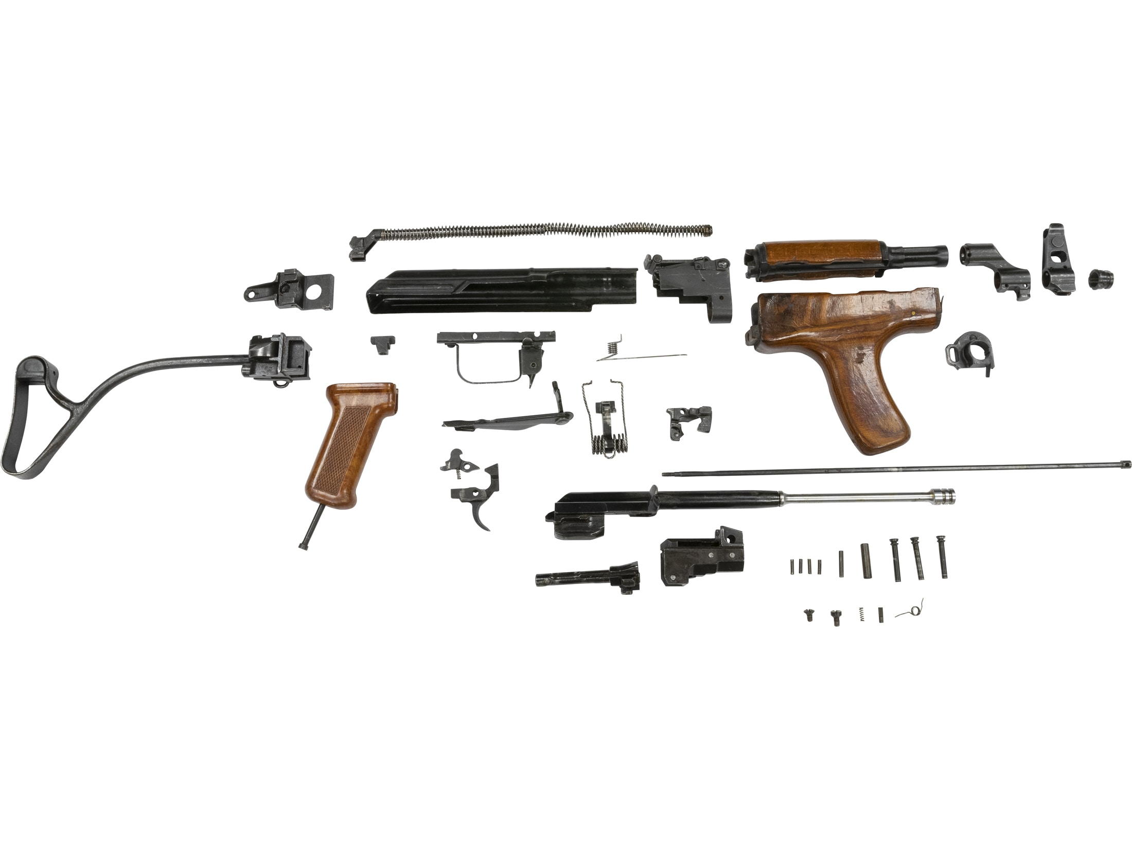 Fotos Schematics Of An Ak 47 Broken Down By Components ... on