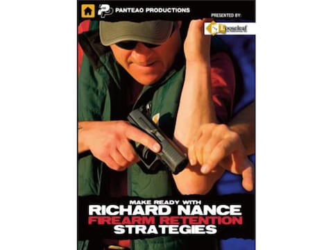 "Panteao ""Make Ready with Richard Nance: Firearm Retention Strategies"" DVD"