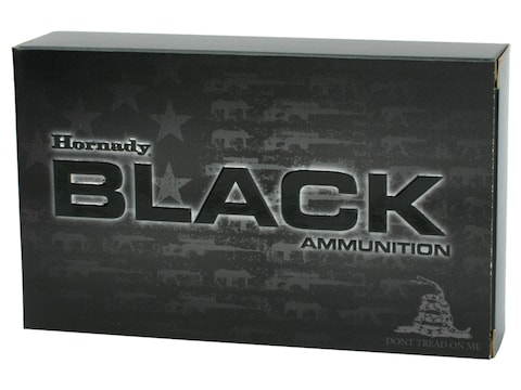 Hornady Black Ammunition 224 Valkyrie 75 Grain Hollow Point Boat Tail Box of 20