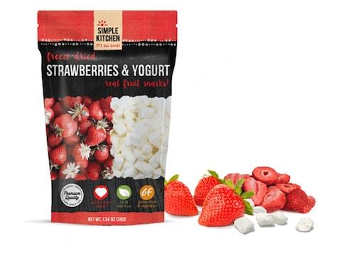 ReadyWise Simple Kitchen Strawberries & Yogurt Freeze Dried Food