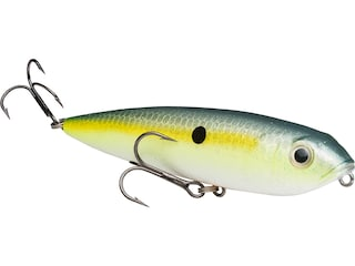 Strike King KVD Sexy Dawg Jr Topwater Chartreuse Sexy Shad