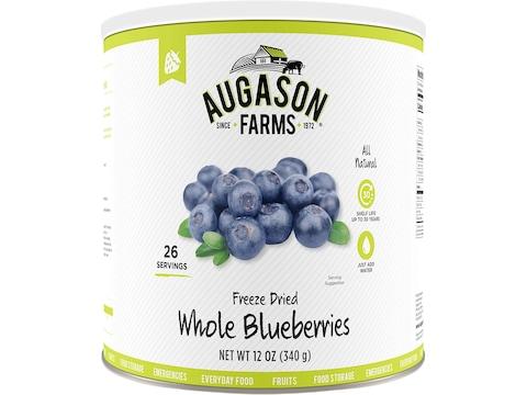 Augason Farms Freeze Dried Whole Blueberries 12 oz