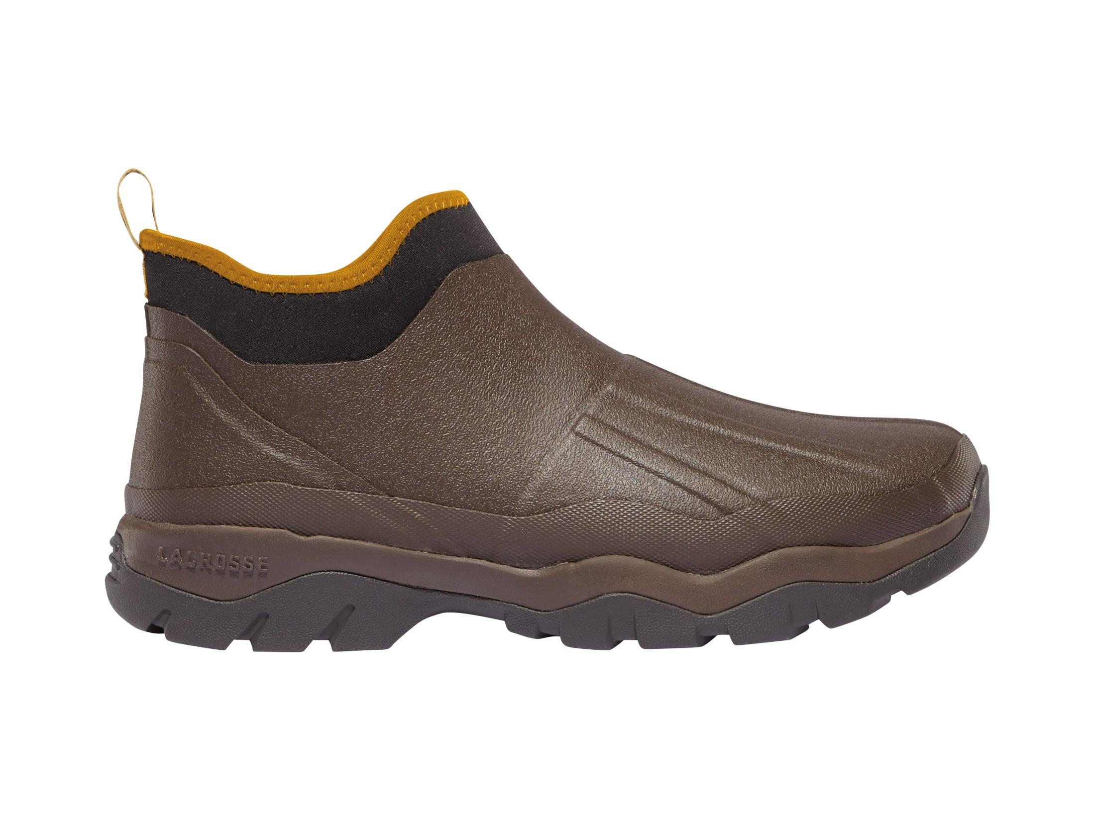 0b8d4b9a488 LaCrosse Alpha Muddy 4.5 Utility Shoes Rubber Clad Neoprene Mossy Oak