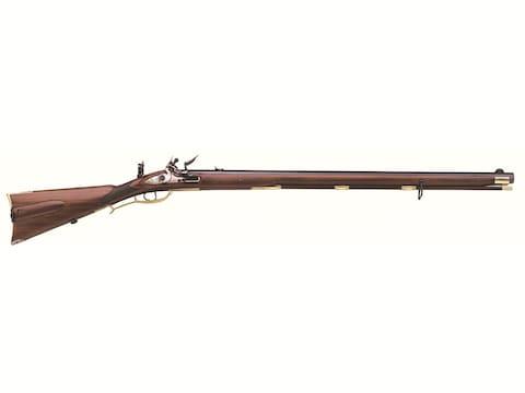 "Pedersoli JÄGER Target Muzzleloading Rifle 54 Caliber Flintlock 32"" Browned Barrel Waln..."