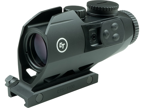 Crimson Trace Red Dot 3.5x 30mm Battle Sight Hybrid BDC Reticle with Picatinny Mount Matte