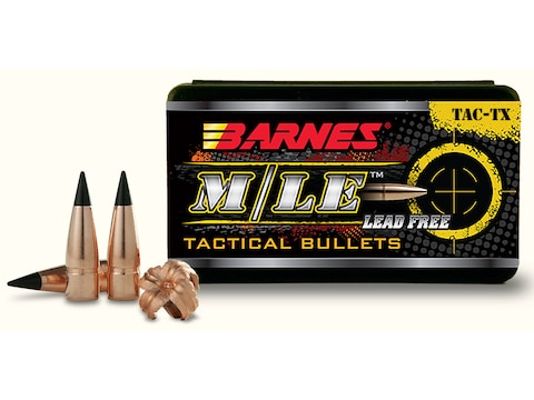 Barnes Tipped TAC-TX Bullets 300 AAC Blackout/300 Whisper (308 Diameter) 120 Grain Boat...