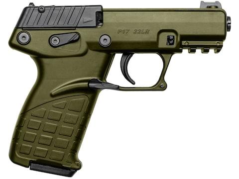 "Kel-Tec P17 Pistol 22 Long Rifle 3.93"" Barrel 17-Round Polymer"