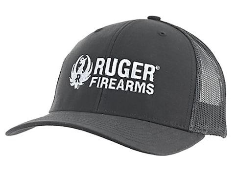 Ruger Firearms Logo Meshback Trucker Cap