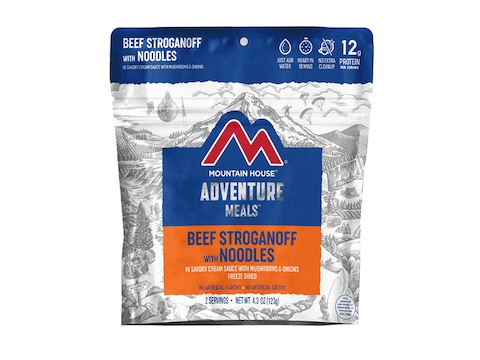 Mountain House Beef Stroganoff Freeze Dried Food 2 Serving