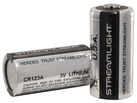 Streamlight Battery CR123A 3 Volt Lithium