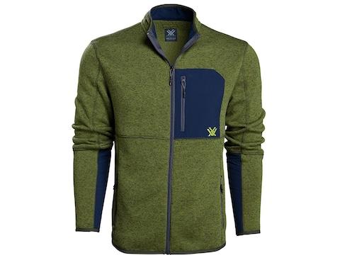 Vortex Optics Men's Anchor Point Fleece Full Zip Sweater