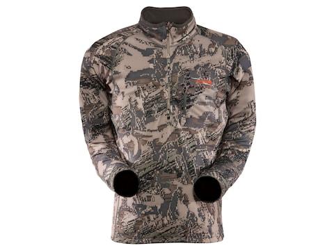 Sitka Gear Men's Traverse Zip-T Shirt Long Sleeve Polyester