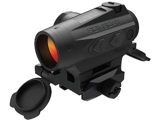 Sig Sauer ROMEO4T Red Dot Sight 1x Ballistic Circle Plex Reticle Hex Bolt Mount and Space Solar/Battery Powered Black