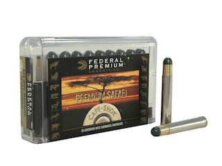 Federal Premium Safari Ammunition 458 Winchester Magnum 500 Grain Woodleigh Hydrostatically Stabilized Solid Bullets Box of 20