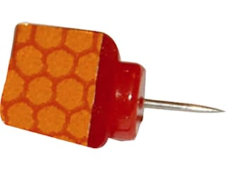 HME Reflective Wing Trail Tack Polymer Orange Pack of 25