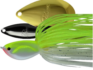 Picasso Willow Indiana Spinnerbait 3/8oz Chartreuse/White Nickel/Gold