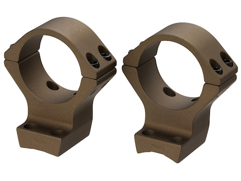 """Browning 2-Piece Scope Mounts Integral 1"""" Rings Browning Burnt Bronze Cerokote"""