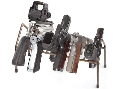 Rack'Em Racks Economy Pistol Rack Brown