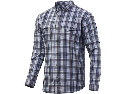 Huk Men's Tide Point Plaid Long Sleeve Shirt