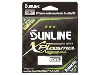 Sunline Xplasma Asegai Braided Fishing Line 50lb 165yd Dark Green